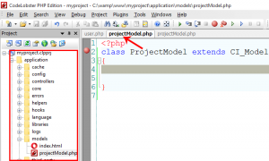 Creating Model Class in CodeIgniter