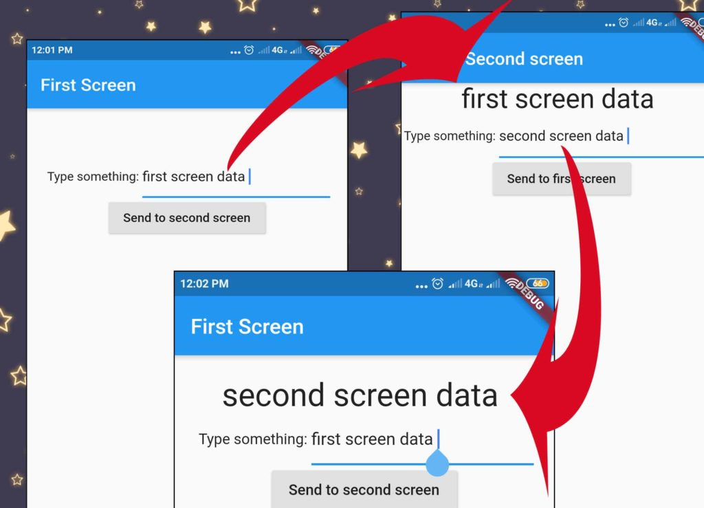 Send Data to Previous Screen on Back in Flutter
