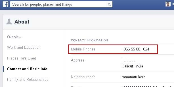 How to Get Someone's Phone Number Using Facebook