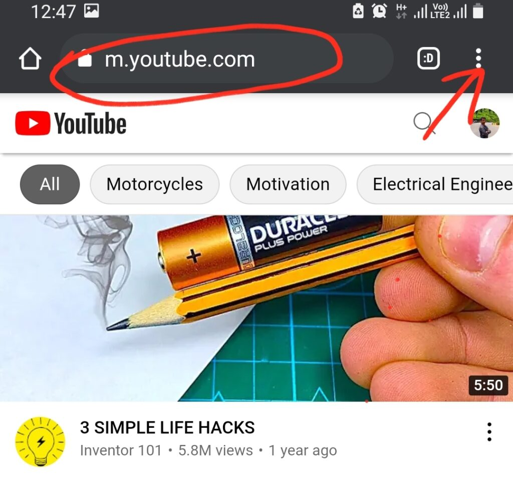 Play YouTube on Mobile Phones